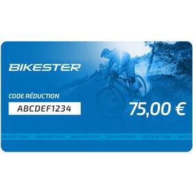 Bikester Chèques Cadeaux, 75 €